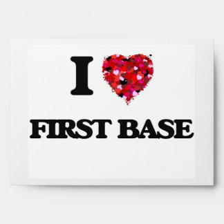Amo la primera base sobre