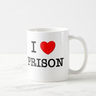 Amo la prisión tazas