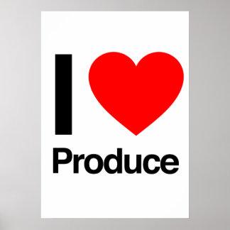 amo la producción posters