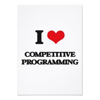 Amo la programación competitiva invitacion personalizada