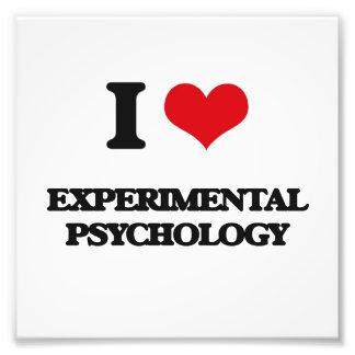Amo la psicología experimental fotografía