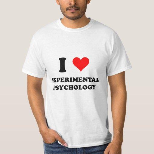 Amo la psicología experimental remera