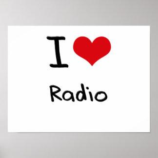 Amo la radio poster