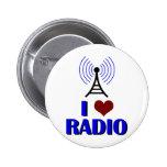 Amo la radio pin