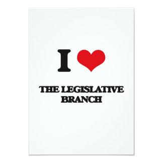 "Amo la rama legislativa invitación 5"" x 7"""