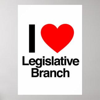 amo la rama legislativa poster