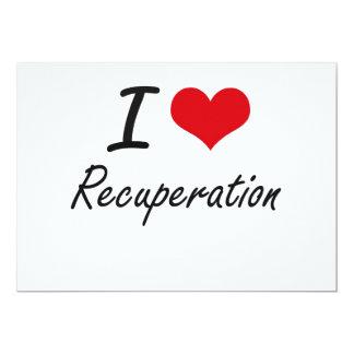 """Amo la recuperación invitación 5"""" x 7"""""""