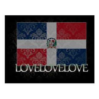 Amo la República Dominicana fresca Postales