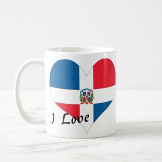 Amo la República Dominicana Tazas