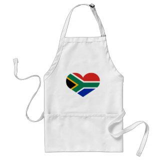 Amo la República Surafricana Delantal