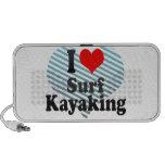 Amo la resaca Kayaking Altavoces De Viaje