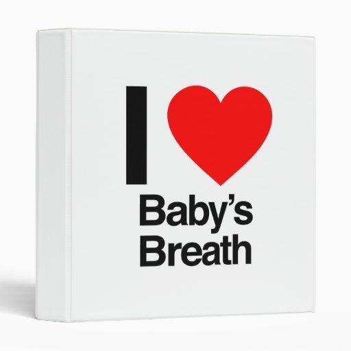 amo la respiración del bebé