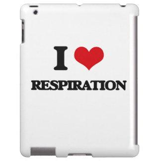 Amo la respiración funda para iPad