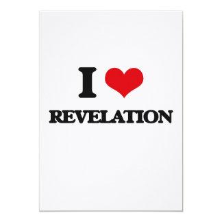 """Amo la revelación invitación 5"""" x 7"""""""