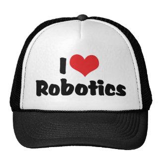Amo la robótica gorras de camionero
