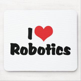 Amo la robótica mouse pads