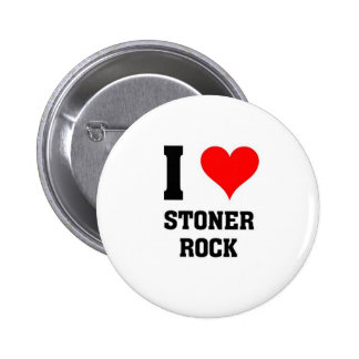 Amo la roca de la deshuesadora pin