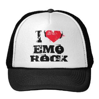 Amo la roca del emo gorra