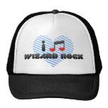 Amo la roca del mago gorra