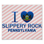 Amo la roca resbaladiza, PA Posters