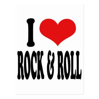 Amo la roca y ruedo postales