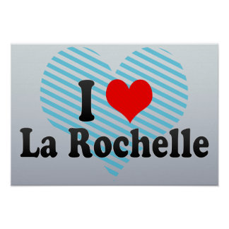 Amo La Rochelle Francia Impresiones
