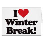 ¡Amo la rotura del invierno! Felicitaciones