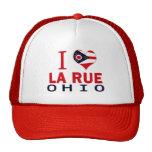 Amo la ruda del La, Ohio Gorro De Camionero