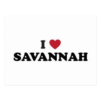 Amo la sabana Georgia Postal