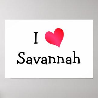Amo la sabana poster