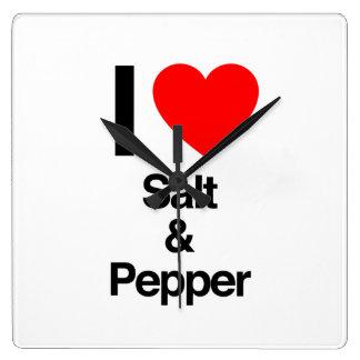 amo la sal y la pimienta relojes