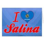Amo la salina, Oklahoma Felicitación