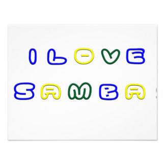 Amo la samba comunicado