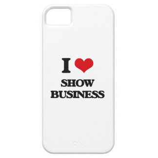 Amo la show business funda para iPhone 5 barely there