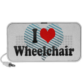 Amo la silla de ruedas mp3 altavoces