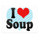 Amo la sopa postal