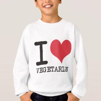 ¡Amo la sopa - vegetariano - los productos de la Sudadera