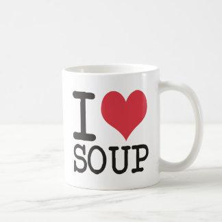 ¡Amo la sopa - vegetariano - los productos de la Taza Clásica