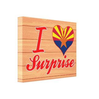 Amo la sorpresa, Arizona Lona Estirada Galerias