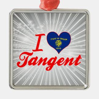 Amo la tangente, Oregon Ornaments Para Arbol De Navidad