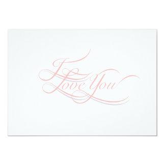 Amo la tarjeta de la Usted-Nota Anuncio Personalizado