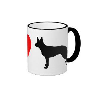 Amo la taza australiana de los Kelpies