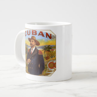 Amo la taza cubana de la porcelana de hueso de los taza grande