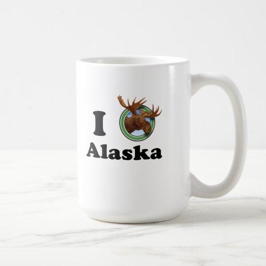 Amo la taza de Alaska