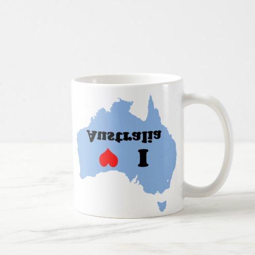 Amo la taza de Australia