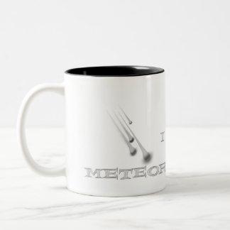 Amo la taza de café de las lluvias de meteoritos