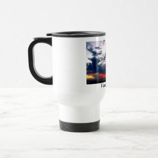 Amo la taza de café de las mañanas