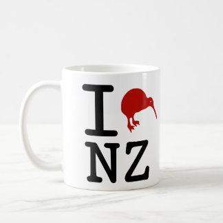 Amo la taza de café de Nueva Zelanda