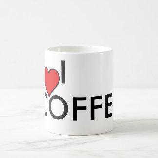 Amo la TAZA de café [del corazón]