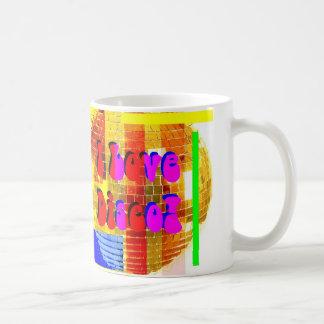 ¡Amo la taza de café del disco! ♫